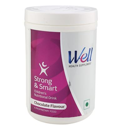Picture of MODICARE Well Strong and Smart Children Nutritional Drink (Chocolate, 200 g)