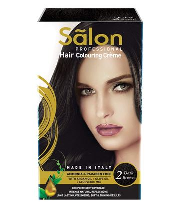 Picture of Modicare Salon Professional Hair Colouring Creme -Dark Brown