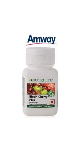 Picture of Amway Nutrilite Biotin Cherry Plus (60 Tablets)