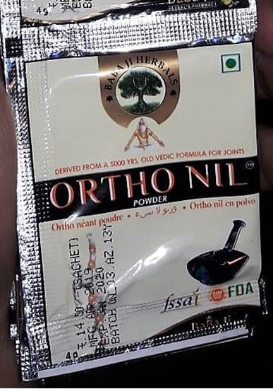 Picture of Orthonil Nil Powder for Joint Pain (50)