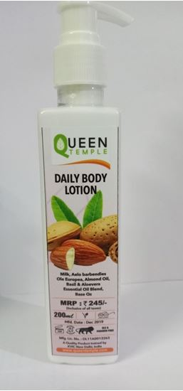Picture of QUEEN TAMPLE DAILY BODY LOTION