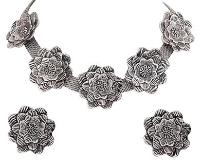 Picture of OXIDIZED FASHION JEWELRY SET