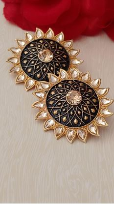 Picture of EARRINGS.. Big Size best quality black