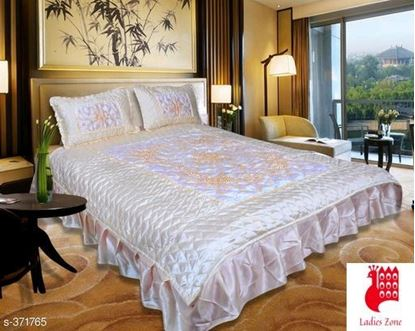 Picture of DELUXE SATIN  DOUBLE BEDSHEET VOL 1
