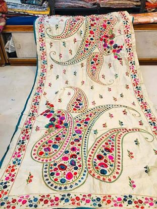 Picture of Hand Embroidery Dupatta