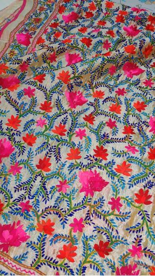 Picture of Hand Embroidery Dupatta for women