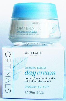 Picture of Oriflame Optimals White Oxygen Boost Day and night cream Cream SPF 15