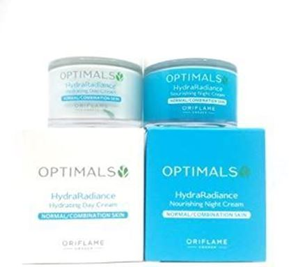 Picture of Oriflame Optimals Hydra Radiance Hydrating Day Cream + Hydra Radiance Moisturising Night Cream-