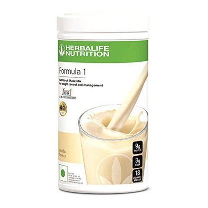 Picture of Herbalife Formula 1-Nutritional Shake Mix-French Vanilla-500 gms