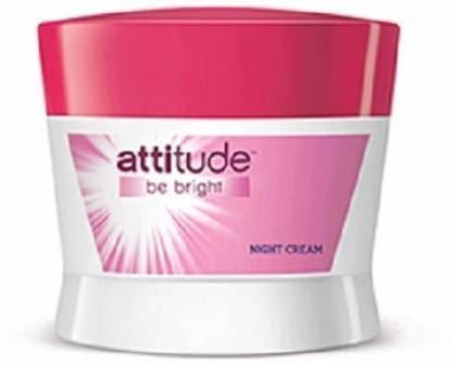 Picture of Amway Attitude Be Bright Night Cream  (50 g)