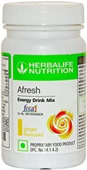 Picture of Herbalife Afresh Energy Drink Mix- Ginger-50 gms