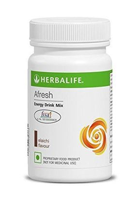 Picture of Herbalife Afresh Energy Drink Mix - Peach-50 gms