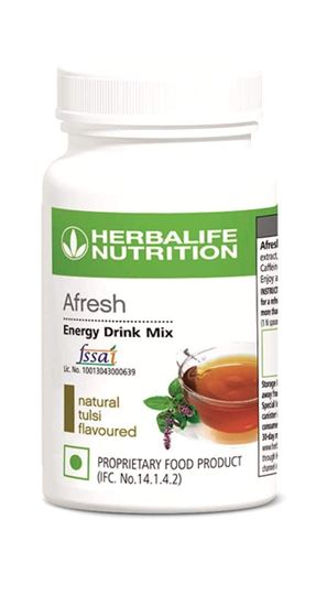 Picture of Herbalife Afresh Energy Drink Mix - Tulsi-50 gms