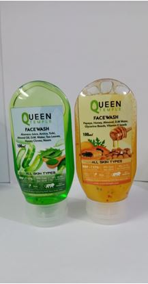 Picture of Queen Papaya and aleovera Face wash