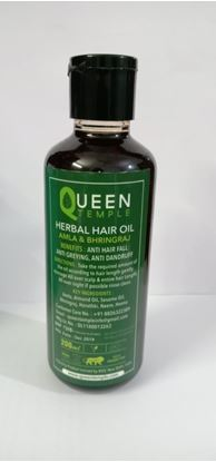 Picture of Queen Temple herbal Hair Oil 200ml