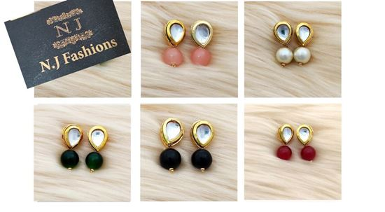 Picture of Kundan tops (sets of 5)