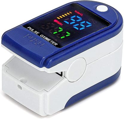 Picture of EH Pulse Oximeter Fingertip, O2 Saturation, Pulse Rate Digital Display,