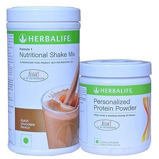 Picture of Herbalife Formula 1 Chocolate Shake 3 Protein Powder (500 g)+Protein Powder 200g