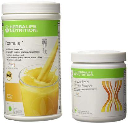 Picture of Herbalife Formula 1 Shake 500 g Weight Loss - Mango + Protein Powder 200 g