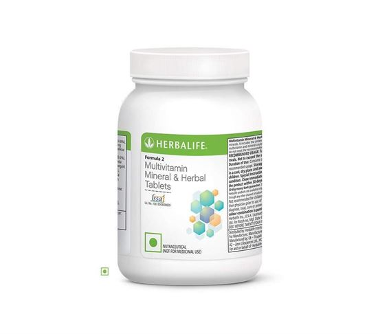 Picture of Herbalife Formula 2 Multivitamin Mineral and Herbal Tablet - 90 Tablets