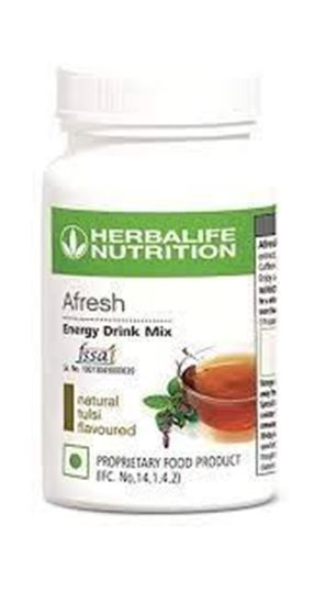 Picture of HERBALIFE AFRESH ENERGY DRINK TULSI FLAVOUR 50g