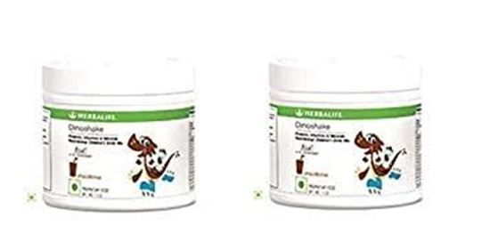 Picture of Herbalife Dinoshake Children's Nutritional Drink Mix Chocolicious 200grms - Pack of 2
