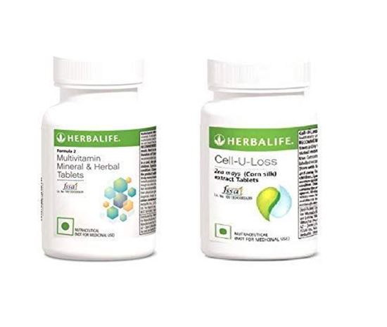 Picture of Herbalife Body Health Package | Cell U-Loss + Multivitamin Tables | 90 Tables | Pack of 2
