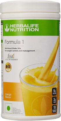 Picture of Herbalife Formula 1 Nutritional Shake Mix Mango Flavor 500 gms