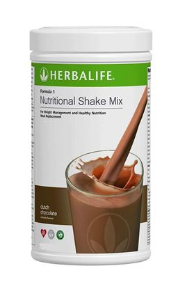Picture of  Roll over image to zoom in Herbalife Nutrition Formula 1 Nutritional Shake Mix -500 g (Chocolate)