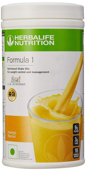 Picture of Herbalife Nutrition Formula 1 Nutritional Shake Mix, 500 g (Orange Cream)